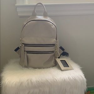 Nude/Cream Steve Madden backpack (medium sized)
